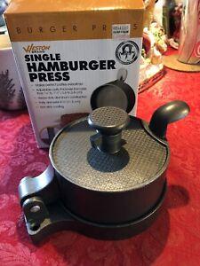 Weston realtree single burger press