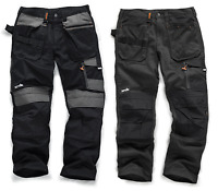 SCRUFFS Trade 3d Work Trousers Cordura BLACK OR GREY **SALE PRICE***