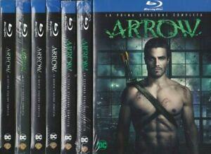 28 Blu-ray x 7 Box Cofanetto ARROW - STAGIONI 1+2+3+4+5+6+7 completa nuovo