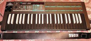 Korg Poly 800 Analog-Synthesizer, MIDI, 49 Tasten, guter Zustand, Heimgerät