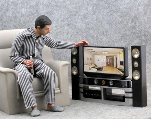 "MIni Home Theatre TV Audio Prop For 12/"" 1:6  Action Figure Model 1//6 Scale Use"