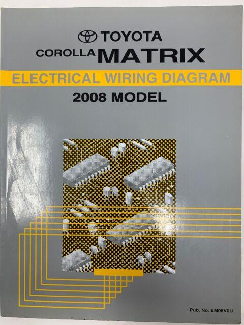 2008 Toyota Corolla Matrix Electrical Wiring Diagram