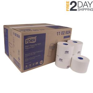 Tork 110292A Advanced High-Capacity 2-Ply Toilet Tissue Roll White