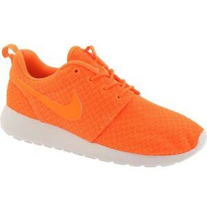 ce722678edcd Details about US size 7.0 511882-881 Nike Women Roshe One total orange white
