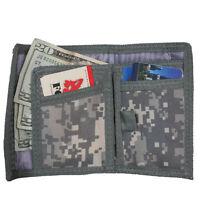 Wallet Men's Nylon Commando Bifold 5 Inside Pockets Many Styles Fox Outdoor