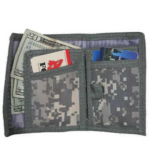 bdc851e9c8d2 Nylon Trifold Wallet Velcro Closure | Casper's & Runyon's Shamrocks ...