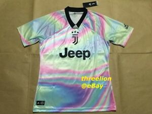 eb26f7d1f BNWT Adidas 18 19 JUVENTUS EA Sports Bubble 4th Kit Soccer Jersey ...