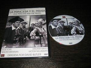 La Principessa Y Il Pirata DVD Bob Hope Virginia Mayo Walter Brennan Victor
