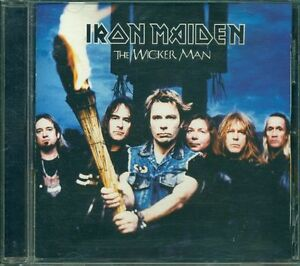 Iron-Maiden-The-Wicker-Man-Cd-Ottimo