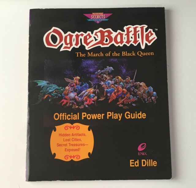 Ogre Battle : Official Secrets and Solutions by PCS Staff and Prima  Publishing Staff (1997, Paperback)