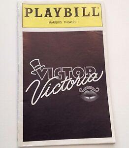 Playbill-1997-Victor-Victoria-Raquel-Welch-Tony-Roberts-Marquis-Theatre-Broadway