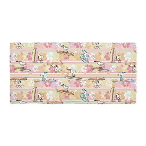 CafePress Snoopy Surfing Pattern Beach Towel 1794468520