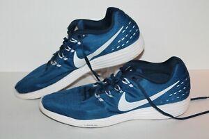 best cheap 74d51 6e0ab Details about Nike Lunartempo 2 Running Shoes, #837-401, Royal/White, Men's  US Size 13