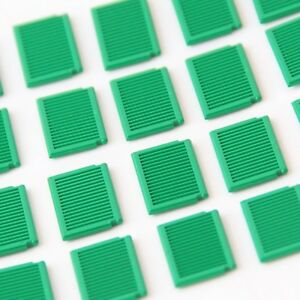 Large Window Shutters Genuine Lego Part 3856 Brand New WHITE 20 PIECES