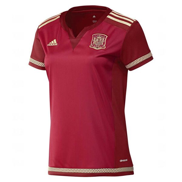 Adidas Women's Spain 15 16 Home Jersey Red M39399