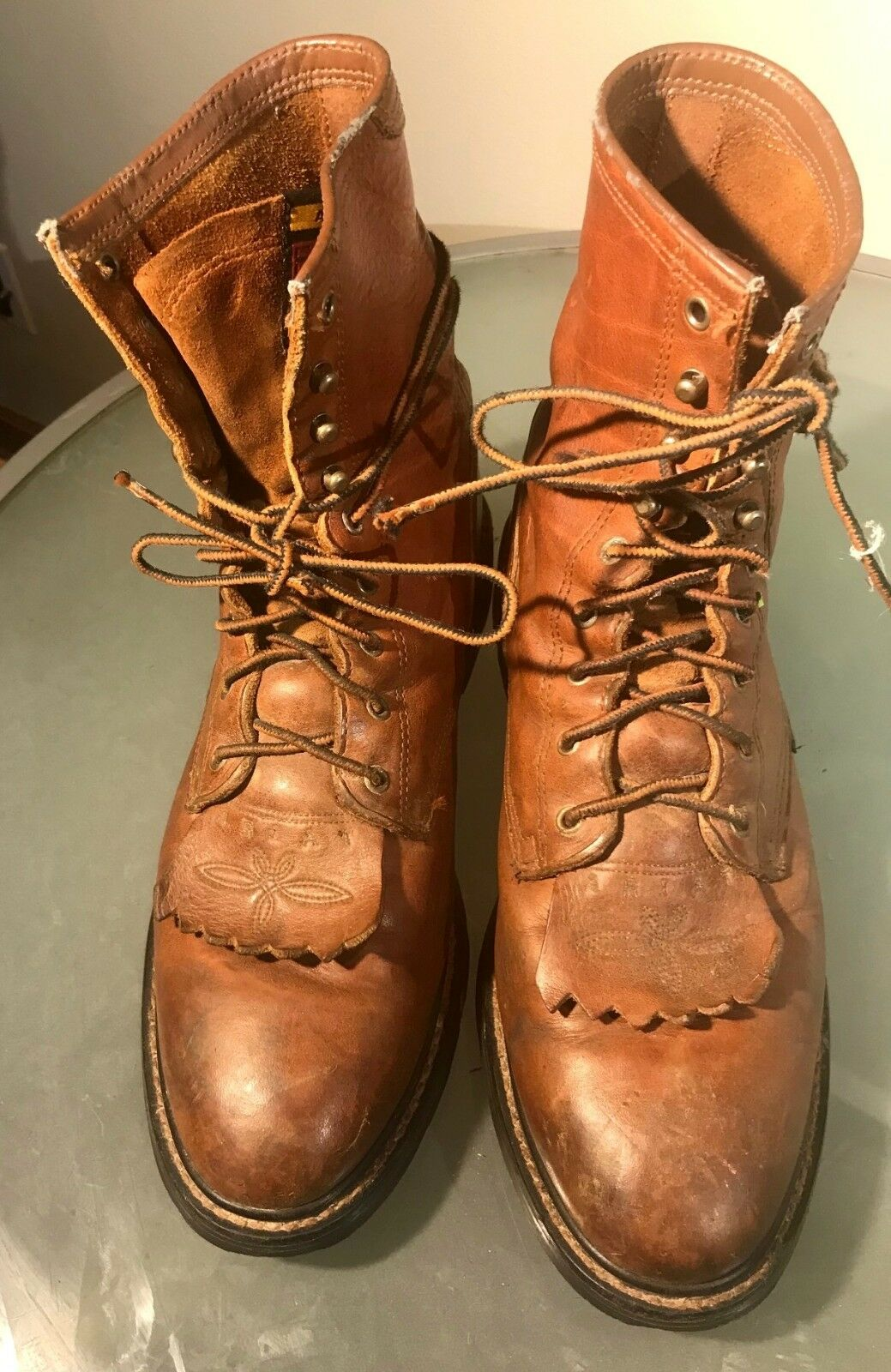 ARIAT The New Breed of Boot Oil-Resistant Duratread Brown Leather Roper Boot 11D
