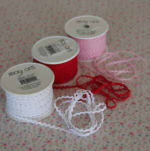 3m-White-Mini-Baby-Ric-Rac-Trim-1-8-034-3mm-Wrap