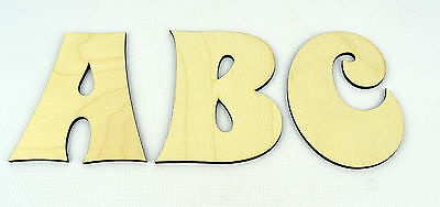 XXL Wooden Alphabet Letters / Wall Hanging / Nursery Decor / Alphabet Wall