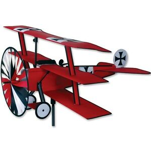 Fokker-Tri-plane-Staked-Airplane-Red-Baron-Staked-Wind-Spinner-42-Pr-26306