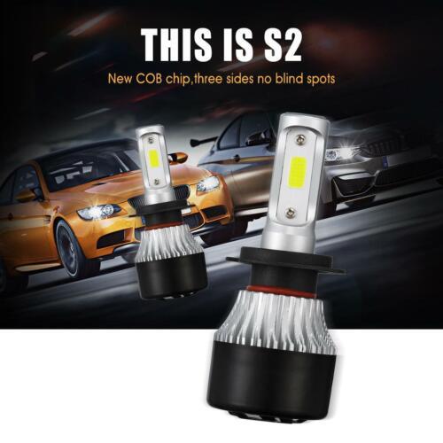 H7 COB LED Headlight Bulbs Kit For Mazda 3 2007-2009 Mazda 6 2011-13 Hi//Lo Beam