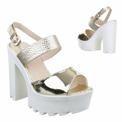 NEU  DAMENSCHUHE SANDALETTEN 5m6g HIGH HEELS PUMPS 0€