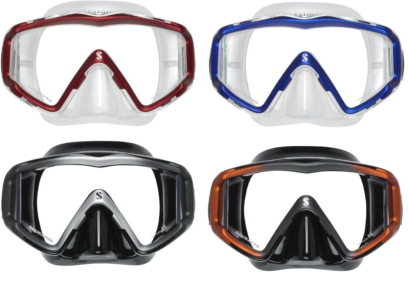 Scubapro Crystal Vu Diving Mask Various Colours Diving Mask