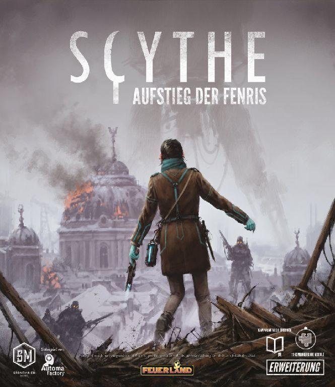 Scythe germano-Ascension de l'élargissement Fenris-Jeu-de Feu-Neuf dans sa boîte