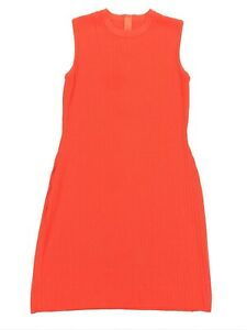 St-John-Collection-Women-s-Knit-Wool-Slimming-Sheath-Dress-Red-Size-8