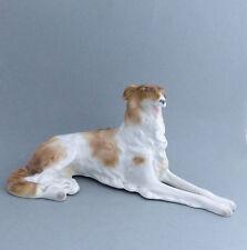 Borzoi Russian Wolfhound Vintage Dog Figurine Schaubach Kunst