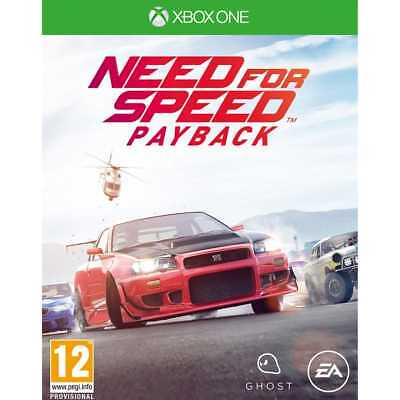 Xbox Games M1RESIELE12156 Need For Speed Payback 10/11/2017 *