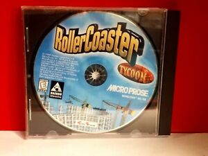Details about RollerCoaster Tycoon (PC, 1999) JEWEL CASE 19113