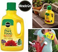Miracle Gro Liquid Plant Food All Purpose Big Grow Flowers Plants Fertilizer