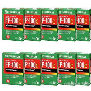100-Prints-Fuji-Fujifilm-FP100C-Instant-Color-Film-10-Packs-FP-100C