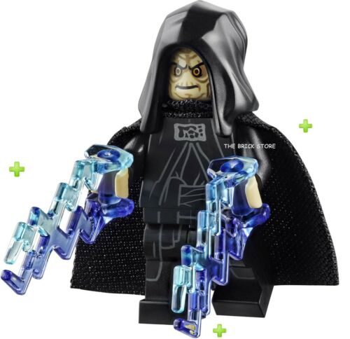 75291-2020 SHOCKS LEGO STAR WARS OPEN HOOD PALPATINE W// SPONGY CAPE NEW