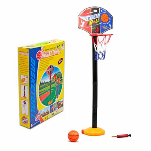 In Box Children Kids Baby Toys Basketball Hoop Ball Game Stand Set 100cm 2T UK