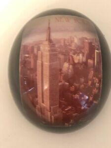 Vintage-NEW-YORK-Acrylium-Photo-Gems-Paperweight-Made-in-Canada