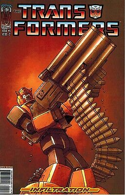 Transformers: Infiltration #4 C Variant