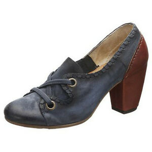 hot sale online 59362 1cbd0 Details about Airstep Pumps Shoes Leather Blue-Brown Size 36 New Leather  Lining New