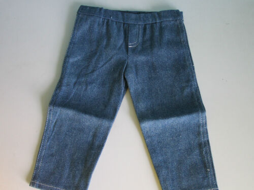 EASY-TO-USE JEANS with White Stitching fit American Girl Perfect for Boy Dolls