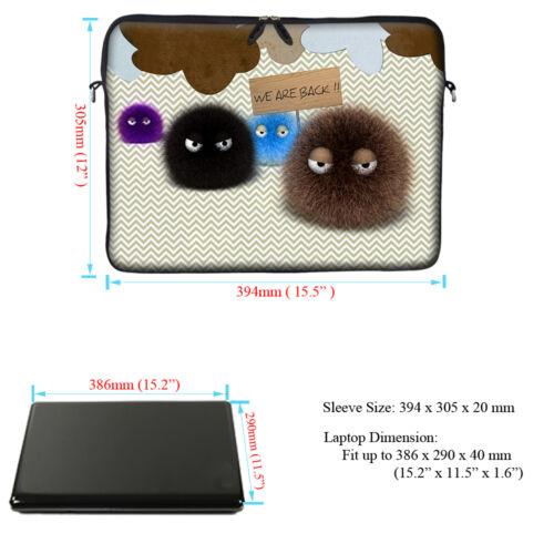 "15/"" 15.6/"" Laptop Notebook Computer Sleeve Case Bag w Hidden Handle 3023"