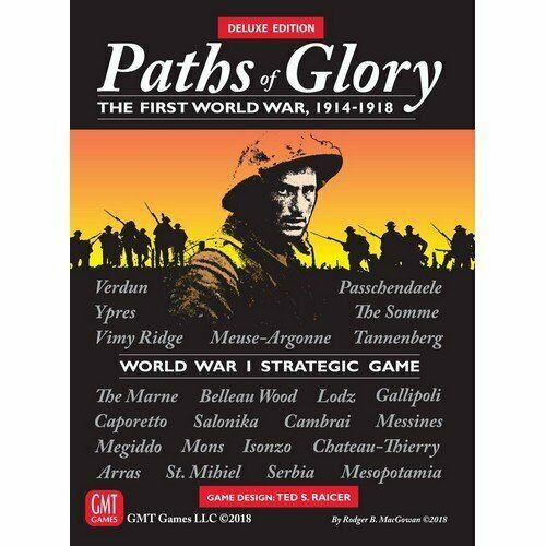 Paths of Glory, Deluxe Edition, New by GMT, English