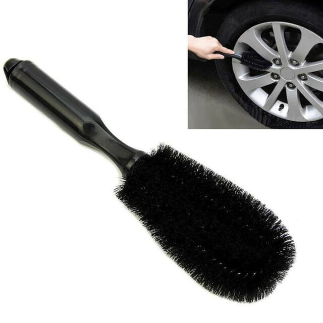 Car Pride Alloy Wheel Brush Cleaning Non Scratch Cleans Spokes Valet Car Van