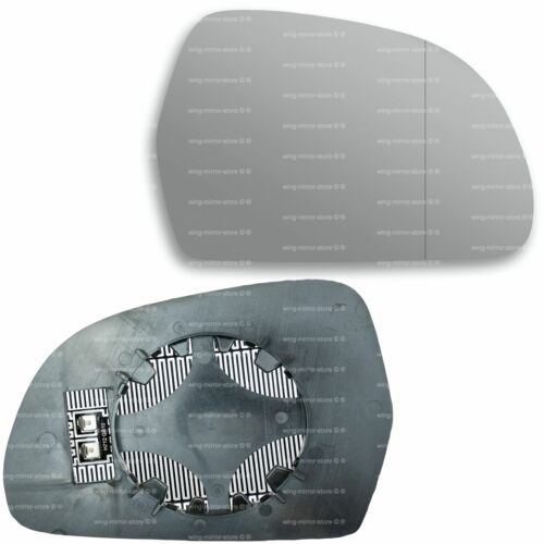 Right side for Audi A3 2008-2010 Wide Angle heated wing door mirror glass