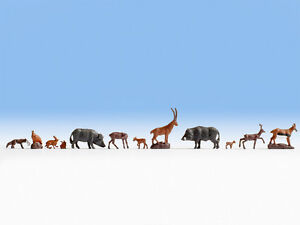 Noch-36745-N-Gauge-Figurines-Forest-Animals-New-Original-Packaging