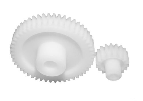 Zahnrad Stirnrad KS aus Kunststoff Polyacetal Modul 3 Bohrung Ø12 20 Zähne