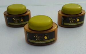 3 x HYDRATING HAIR MASK With Moroccan ARGAN OIL Extract Conditioning Treatment