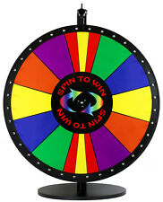 "24"" Spin to Win Dry Erase Prize Wheel with Special Sections"