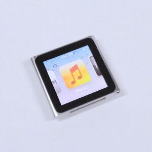 Apple Ipod Nano 16gb 6th Gen Generation Silver Mp3 Warranty Vgc Ebay
