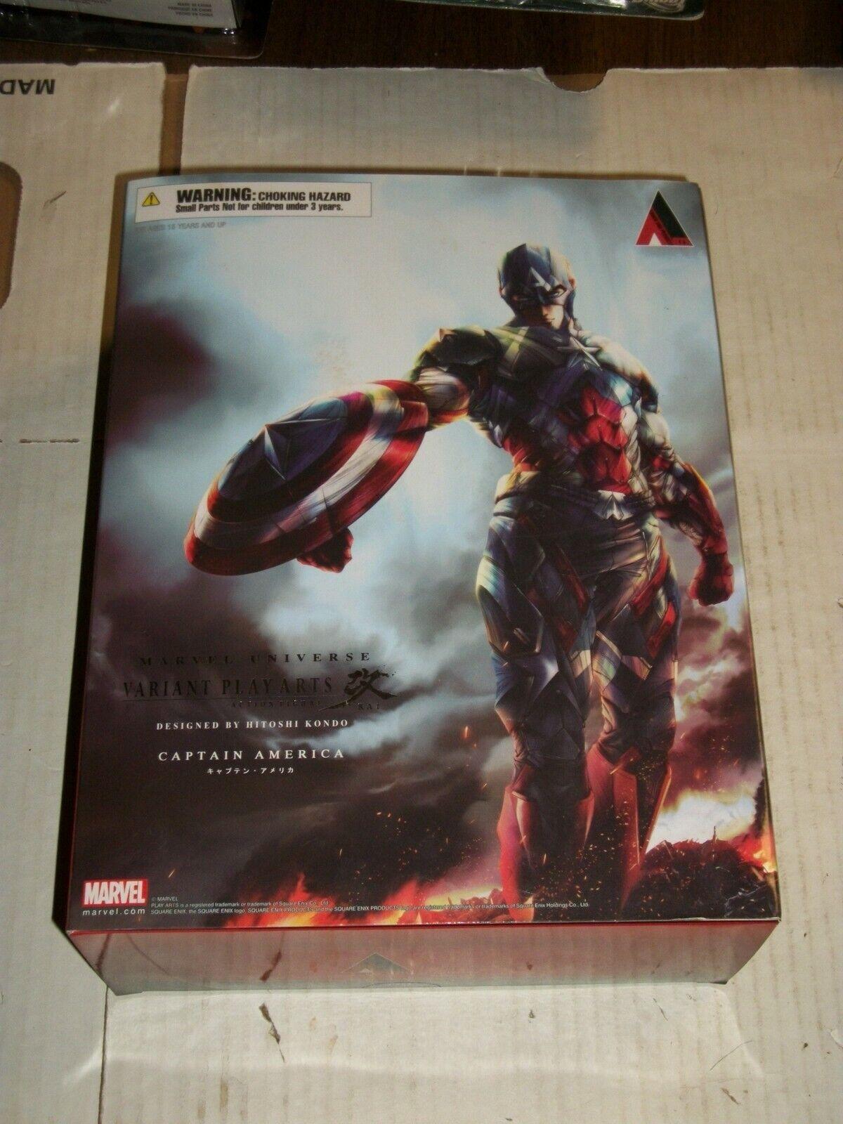 Square Enix variante Jugar Arts Kai Marvel Universo capitán América Figura