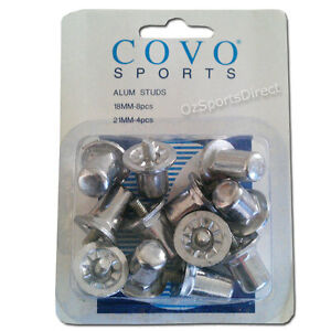 Pack 12 Replacement Studs, 8 x18mm & 4 x 21mm